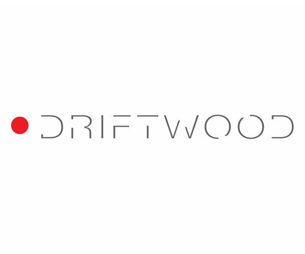 Driftwood logo for film and video production company.
