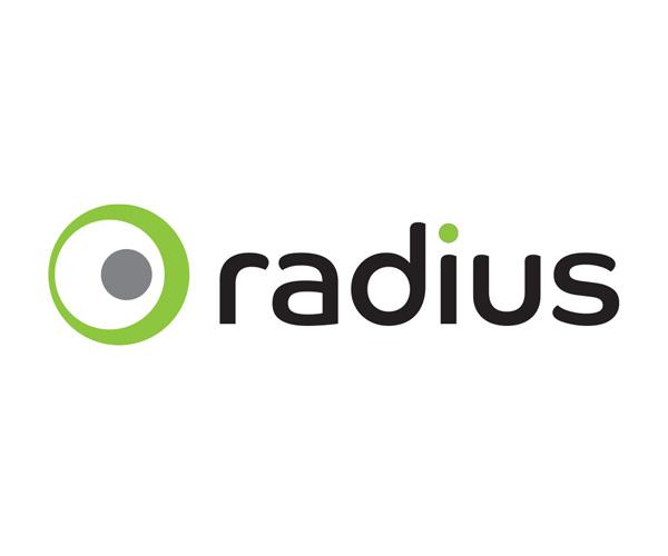 radius logo by robin cox