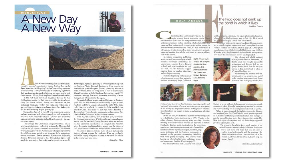 Baja Life editors letter-Robin Cox.