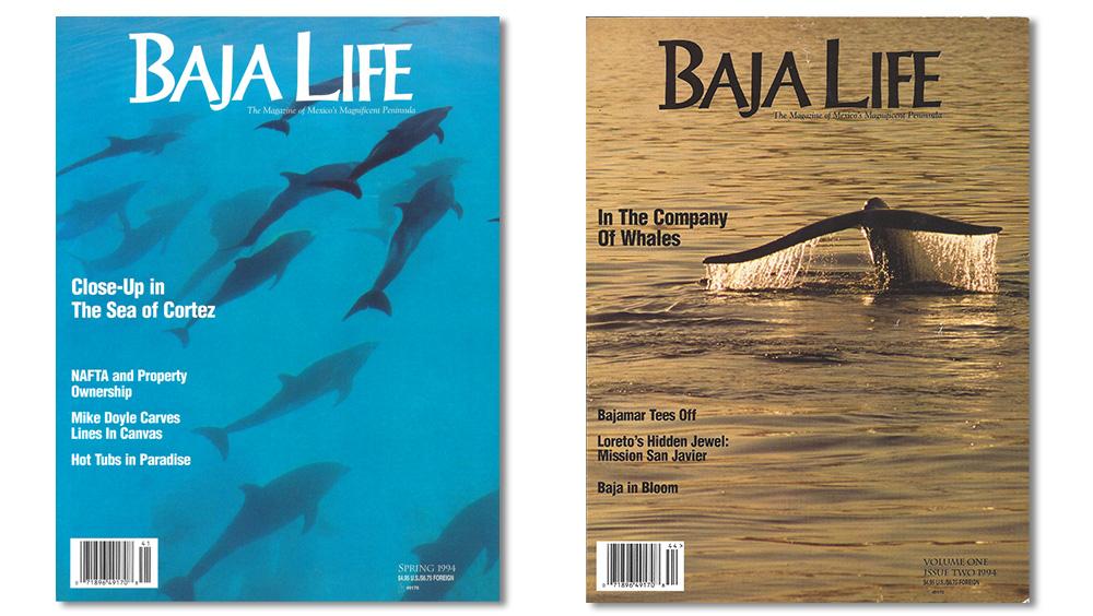 Baja Life Magazine covers