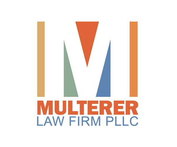 Multerer Law logo by Robin Cox