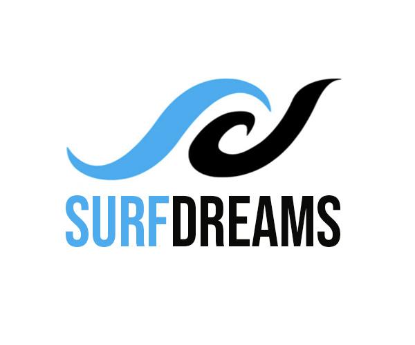 Surf Dreams logo.