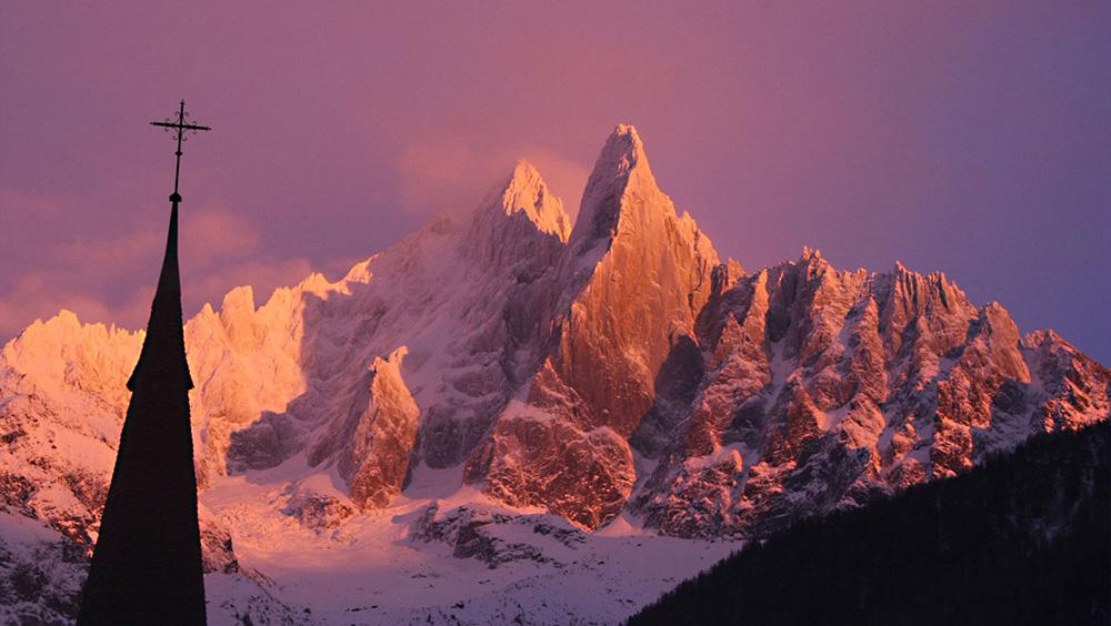 Le Drus, Chamonix, France.