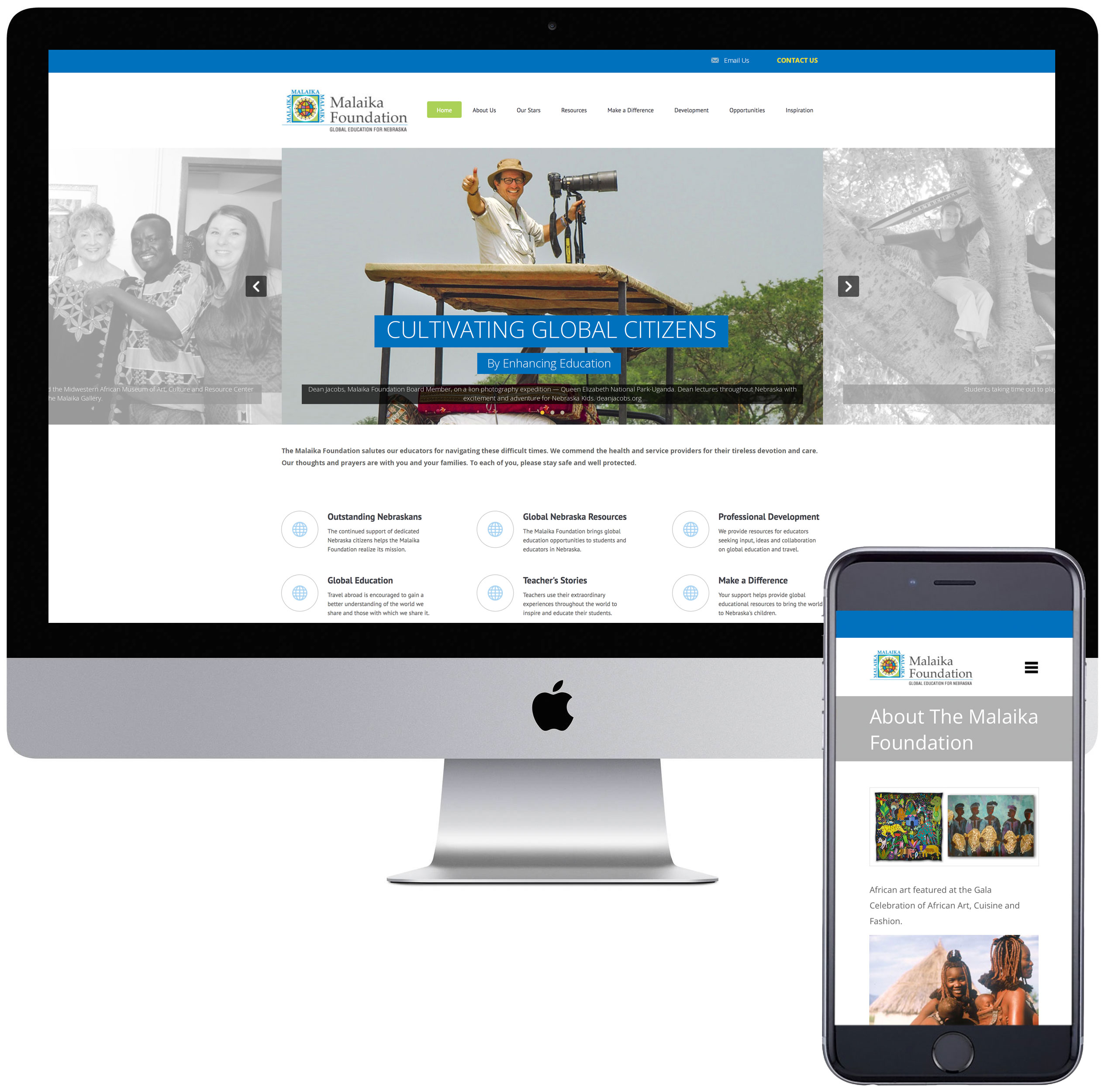 Malaika Foundation website.