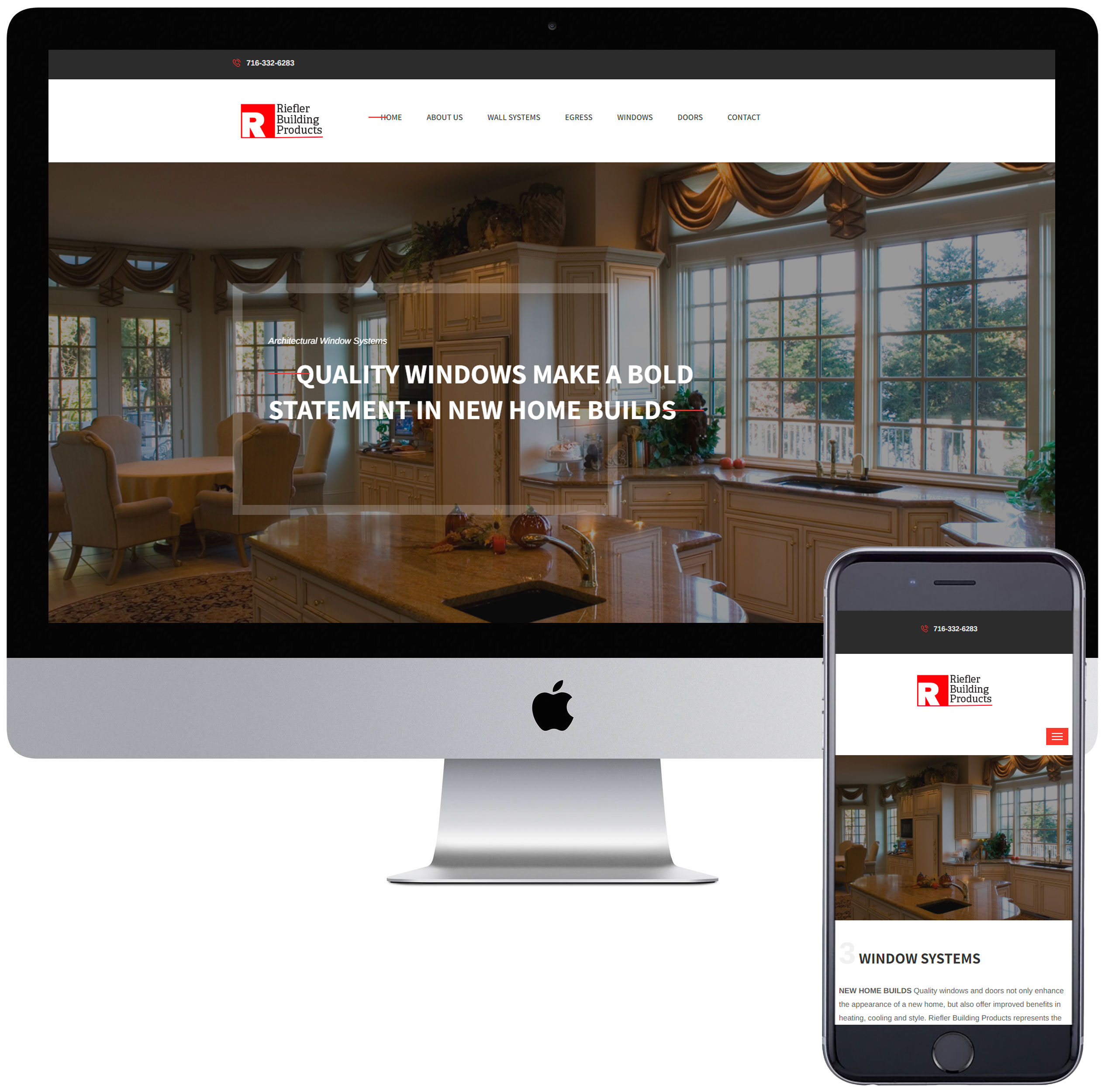 Riefler Building Products website.